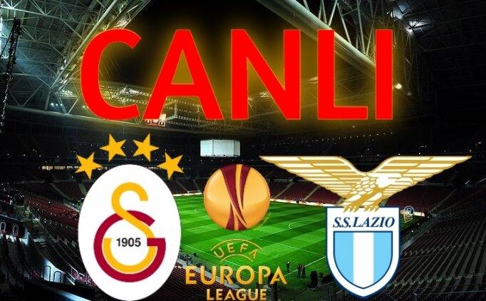 GS Lazio Avrupa Ligi maçı CANLI İZLE | Galatasaray Lazio maçı canlı exxen