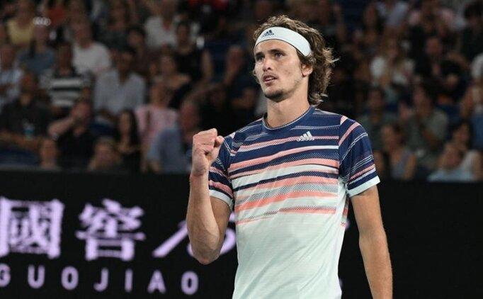 Madrid Açık'ta şampiyon Zverev!
