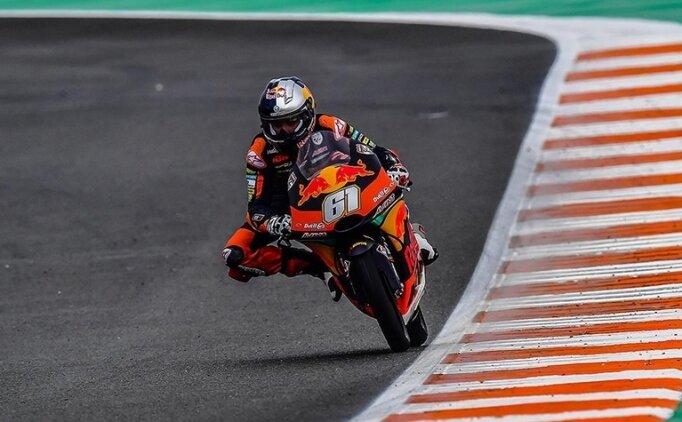 Milli motosikletçi Can Öncü, İspanya'da 5. oldu