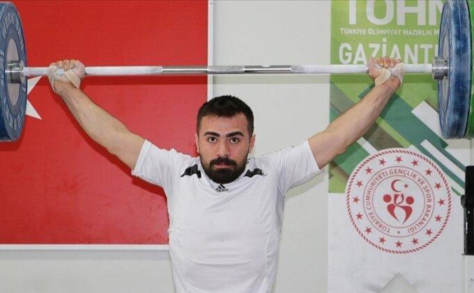 Tokyo Olimpiyatları'na kota alan milli halterci Ferdi Hardal'ın gözü madalyada
