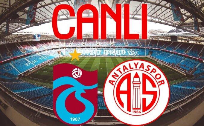 Trabzonspor Antalyaspor maçı Canlı yayın izleme, TS Antalyaspor izle