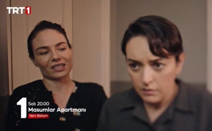 TRT 1 HD Masumlar Apartmanı 33. bölüm izle Salı