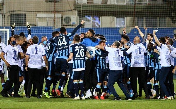 Adana Demirspor, 26 yıllık Süper Lig hasretine son verdi
