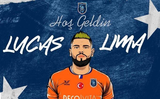 Başakşehir, Lucas Lima'yı açıkladı!