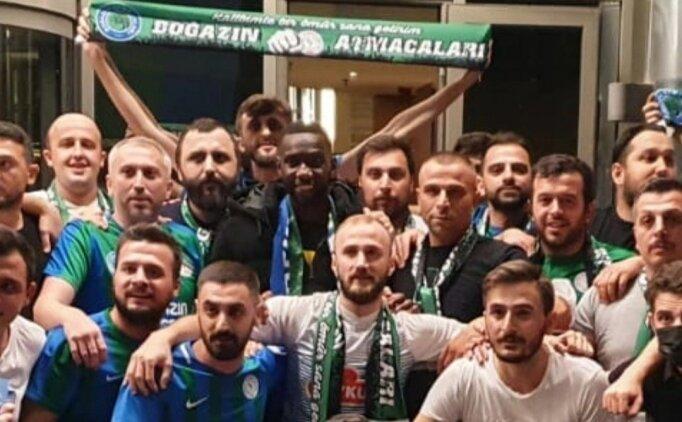 Yannick Bolasie'yi Rize'de taraftarlar karşıladı