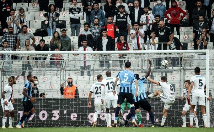 Beşiktaş - Adana Demirspor maçında son dakika golü tartışması