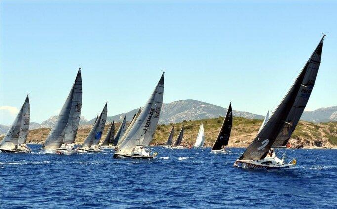 Yelkende laser sınıfı milli takım seçme yarışları İzmir'de başladı
