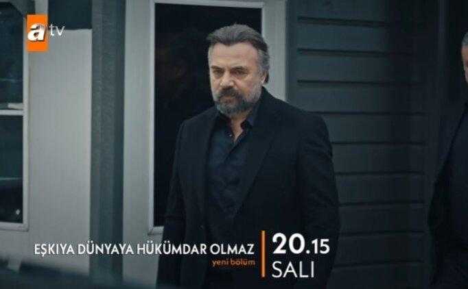 Yeni bölüm Eşkıya Dünyaya Hükümdar Olmaz 191. bölüm ATV HD full izle