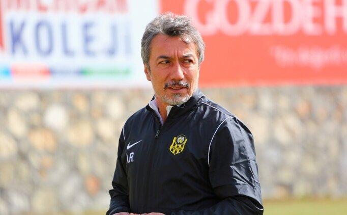 Yeni Malatyaspor, lig maçına Hakan Çalışkan yönetiminde çıkacak
