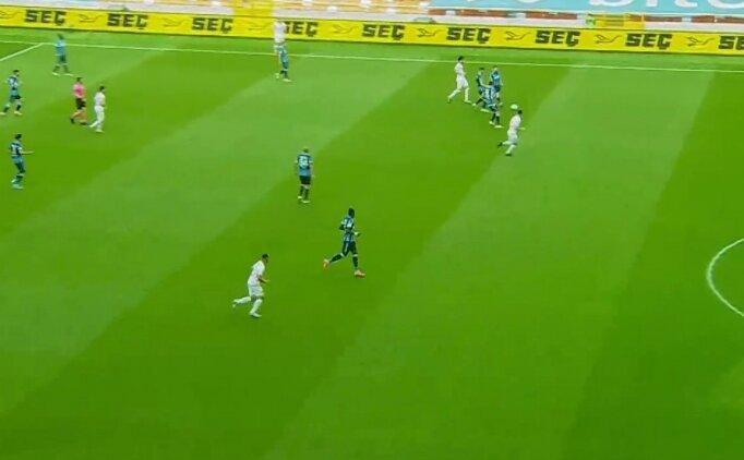 Adana Demirspor - Balıkesir maçında güne damga vuran an