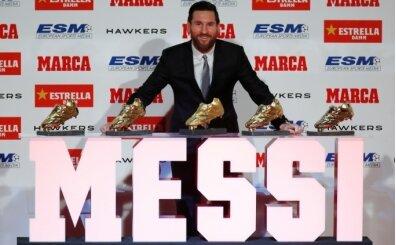 Altın ayakkabı Lionel Messi'nin