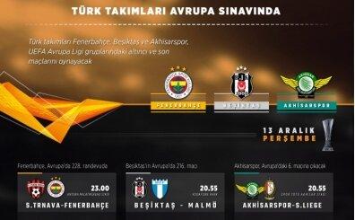 Fenerbahçe, Beşiktaş, Akhisarspor son maçlarına çıkıyor