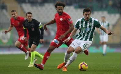 Bursaspor'a puanlar alt sıralardan