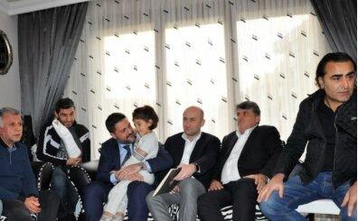 Beşiktaş'tan taziye ziyareti