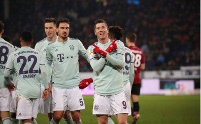 Bayern, Hannover deplasmanında şov yaptı!