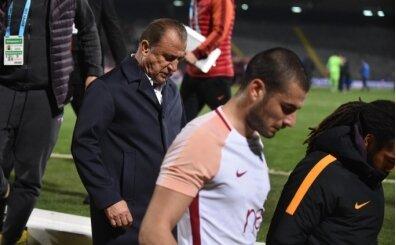 Galatasaray'da kadro dışı kararına zorunlu rötar