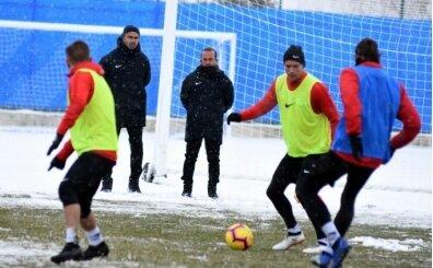 Erzurum tek eksile Fenerbahçe maçı hazırlıklarını sürdürdü