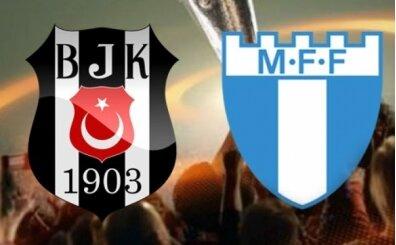 Beşiktaş Malmö hangi kanalda saat kaçta? BJK maçı hangi kanalda yayınlanacak?