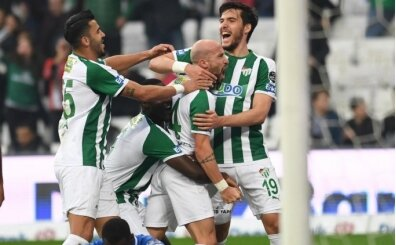Bursaspor, Süper Lig'i o kulvarda solladı