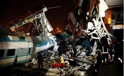 Ankara'da yüksek hızlı tren kaza yaptı! Çok sayıda yaralı var