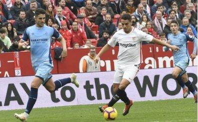 Sevilla, liderin yakasını bırakmadı!
