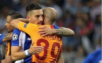 Galatasaray taraftarı, Alex Telles'i unutmadı!