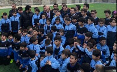 Ünal Karaman, Trabzonspor Futbol Okulu açılışına katıldı