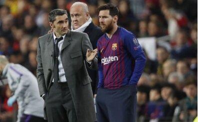 Messi'den Valverde'ye destek; 'Onun suçu yok'