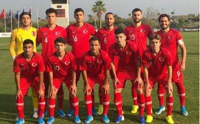 U19 Milli Takım'ı Ermenistan'ı 4-1 yendi