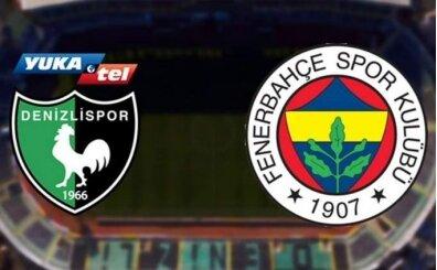 FB maçı şifresiz izle, Denizlispor Fenerbahçe maçı izle canlı yayın