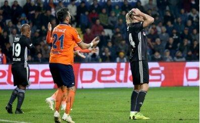 Beşiktaş Başakşehir karşısında 'kabusu' yaşıyor!