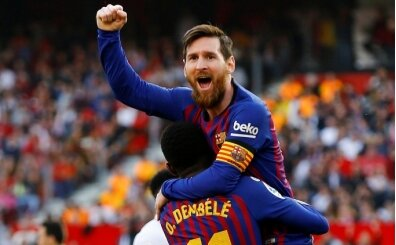 Messi, Messi, Messi! Sevilla'yı tek başına devirdi!