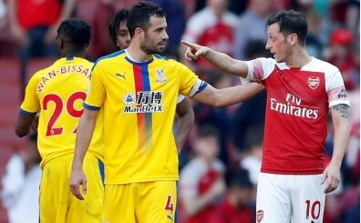 Arsenal'e Crystal Palace tokadı!