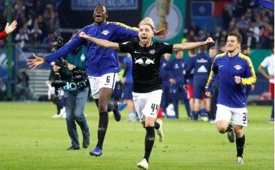 Almanya Kupası'nda ilk finalist Leipzig