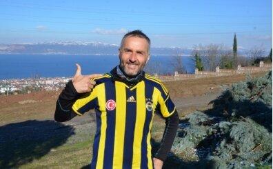 Fenerbahçeli futbolculara destek için İzmir'den İstanbul'a koşuyor