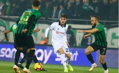 Akhisarspor - Beşiktaş maçında kural hatası!