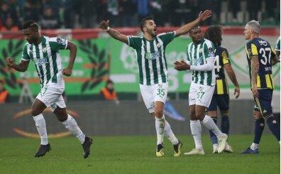 Bursaspor üzgün: 'Galibiyeti kaçırdık'