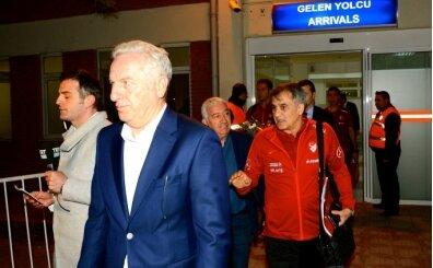 A Milli Futbol Takımı Eskişehir'de