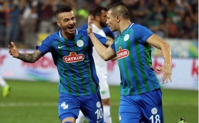 Ç.Rizespor, Sivasspor'u puansız gönderdi