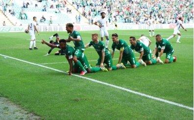 Bursaspor, Osmanlıspor'u 3 golle uğurladı!
