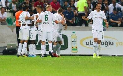 Konyaspor, Denizli'de ilk galibiyetini aldı