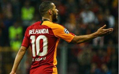 Younes Belhanda'dan ağır küfürler ve silah işareti