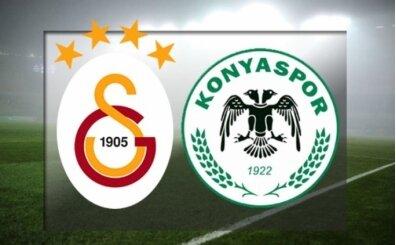 Galatasaray Konyaspor maçı şifresiz canlı izle (beİN Sports izle)