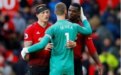 Manchester United'da Pogba ve De Gea şoku!