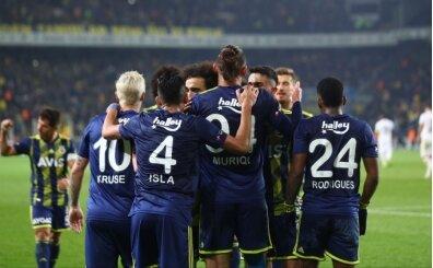 Fenerbahçe'den şut bombardımanı