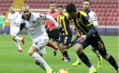 Beşiktaş ile MKE Ankaragücü 101. randevuda