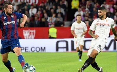 Sevilla, Levante'yi 86'da golcüsüyle yıktı!
