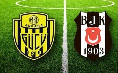 Ankaragücü Beşiktaş maçı şifresiz canlı izle (Lig TV izle)
