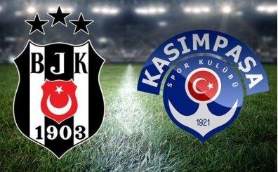 Şifresiz BJK Kasımpaşa maçı izle, Beşiktaş Kasımpaşa canlı skor
