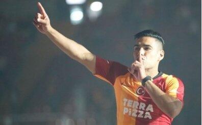 Galatasaray taraftarından Falcao'nun eşine pres